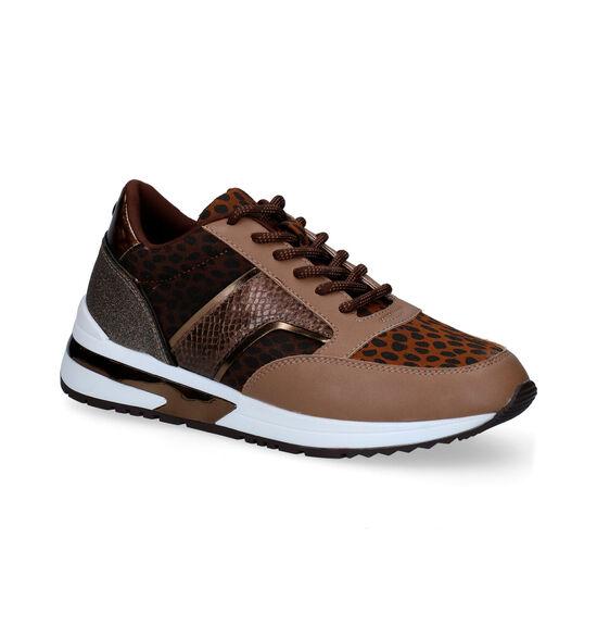 La Strada Cognac Sneakers