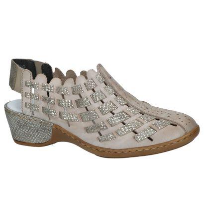 Rieker Chaussures sans lacets  (Blanc), Taupe, pdp