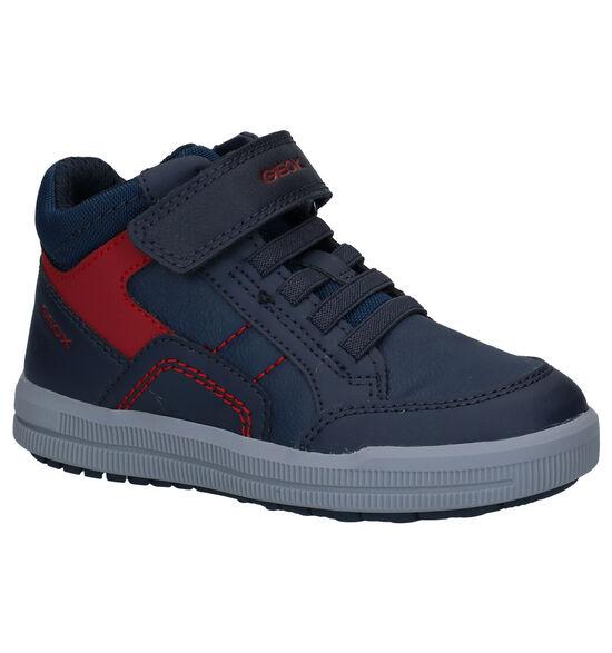 Geox Arzach Blauwe Sneakers