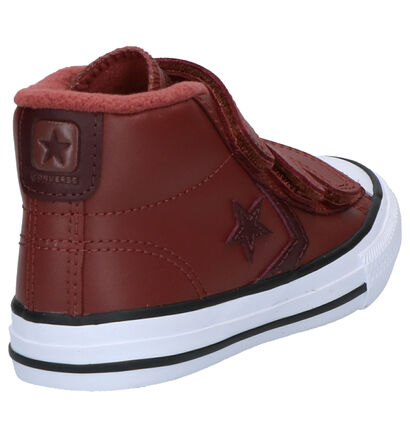 Converse Star Player Bruine Sneakers in leer (263510)