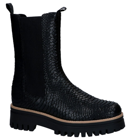 Sweet Lemon Zwarte Chelsea Boots