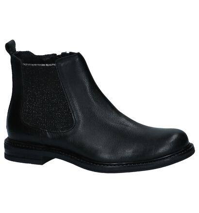 Milo & Mila Chaussures hautes en Noir en cuir (226032)