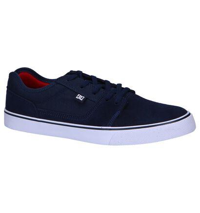 DC Shoes Skate sneakers en Bleu foncé en daim (250817)