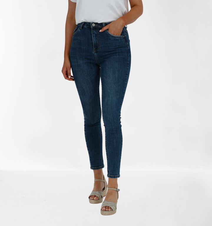 Toxik Skinny Jeans en Bleu