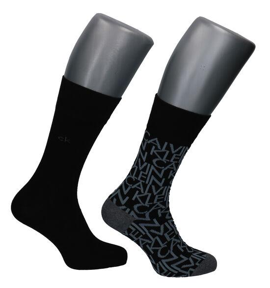 Calvin Klein Zwarte Sokken - 2 Paar