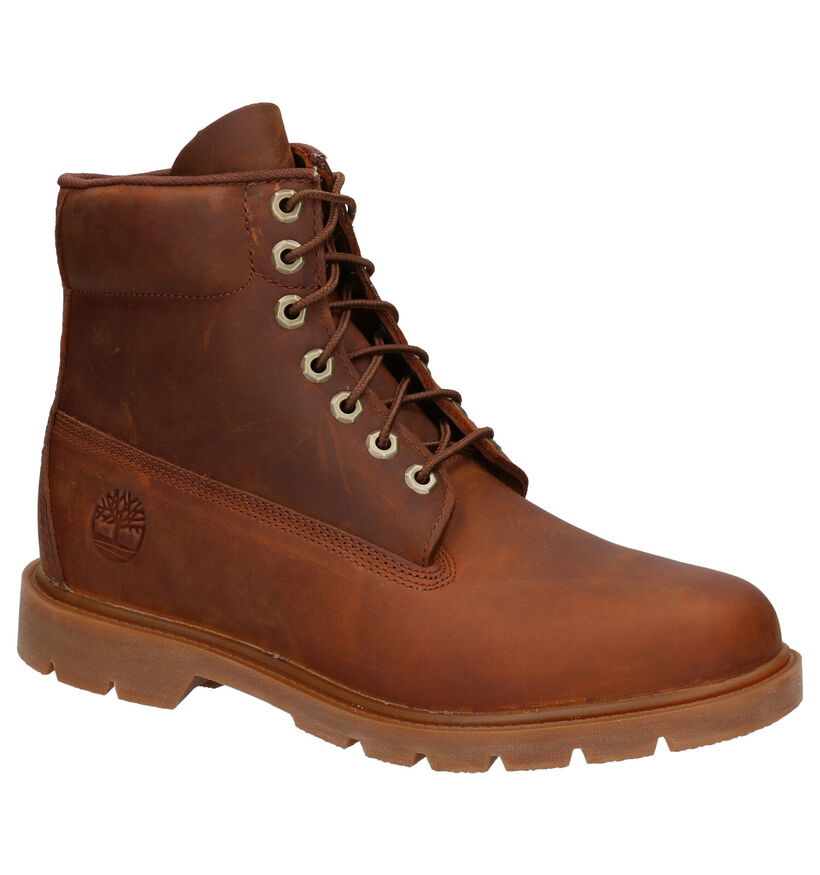 Timberland 6 Inch Basic Bottines en Marron en nubuck (255310)