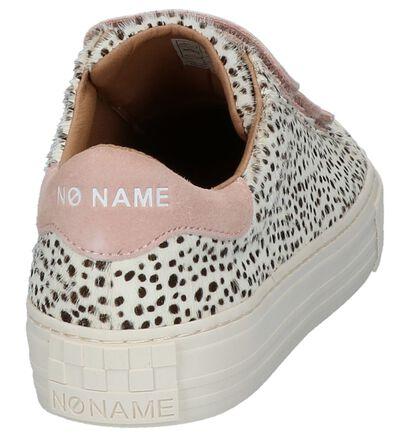 Donker Groene Sneakers No Name Arcade Straps, Beige, pdp