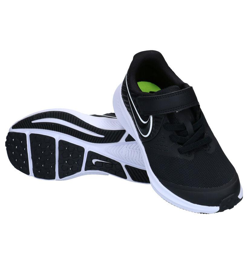 Nike Star Runner 2 Baskets en Noir en textile (277520)