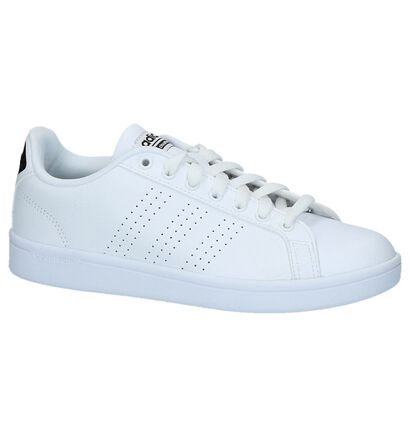 adidas Advantage CL W Sneakers Wit in leer (236758)