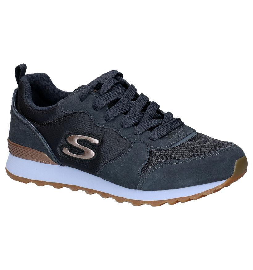 Skechers OG 85 Grijze Sneakers in stof (295687)