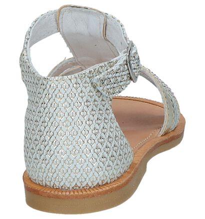 Bana & Co Sandales en Or en cuir (246964)