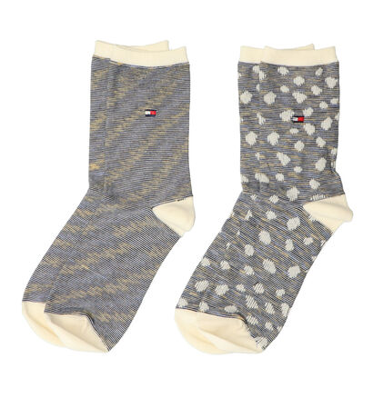 Tommy Hilfiger Blauwe Sokken - 2 Paar (256758)