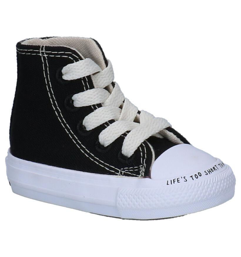 Converse All Star Renew Zwarte Sneakers in stof (253223)