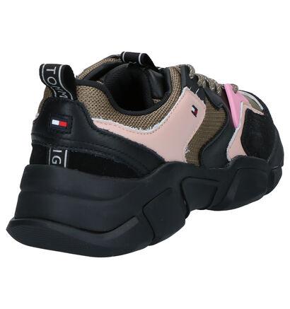 Tommy Hilfiger Zwarte Sneakers in leer (255951)