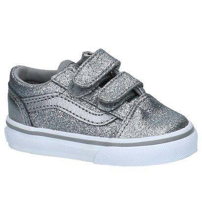 Vans Old Skool Skate sneakers en Argent en textile (207933)