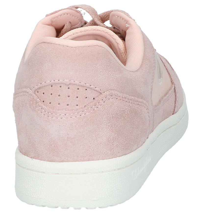 Champion Chicago Baskets basses en Rose en textile (240828)