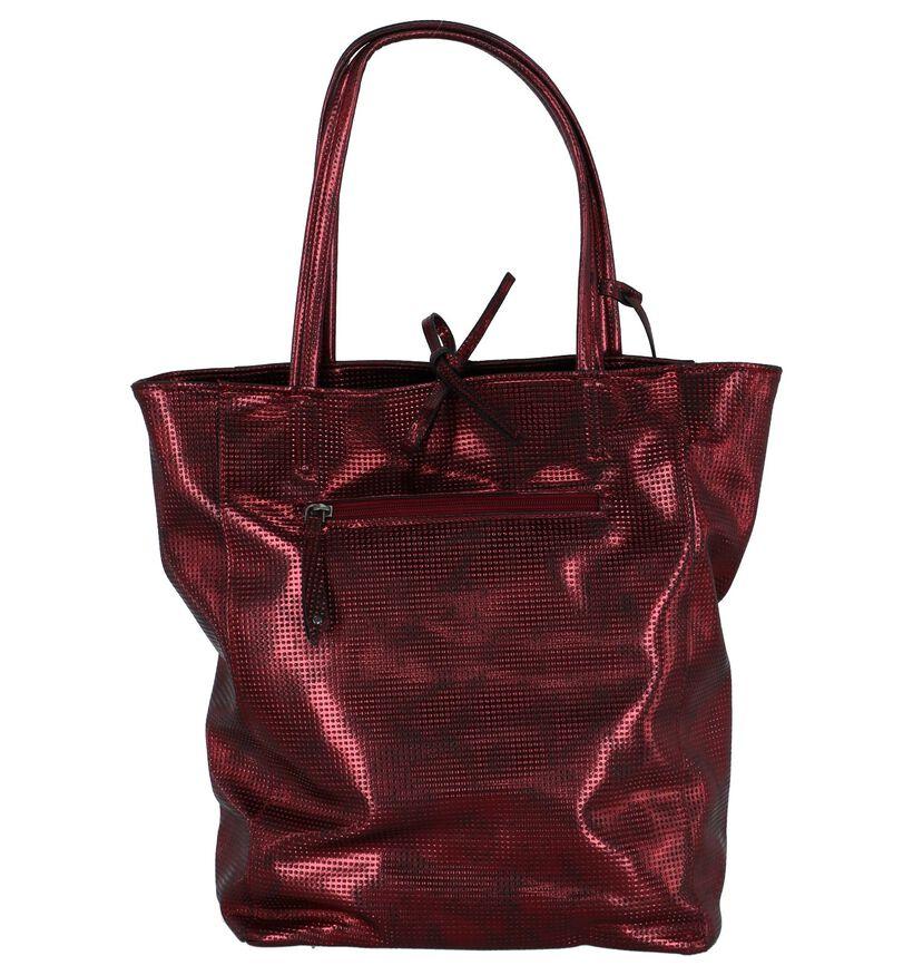 Bordeaux Metallic Shopper Suri Frey Missy in kunstleer (227617)