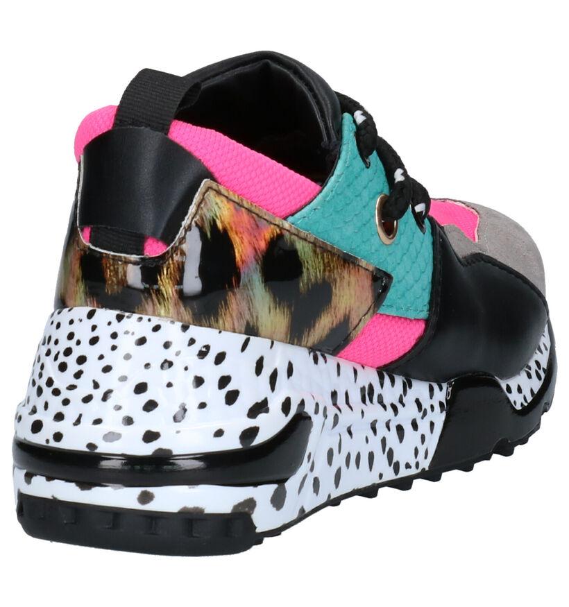 Steve Madden JCliff Multicolor Sneakers in kunstleer (258109)