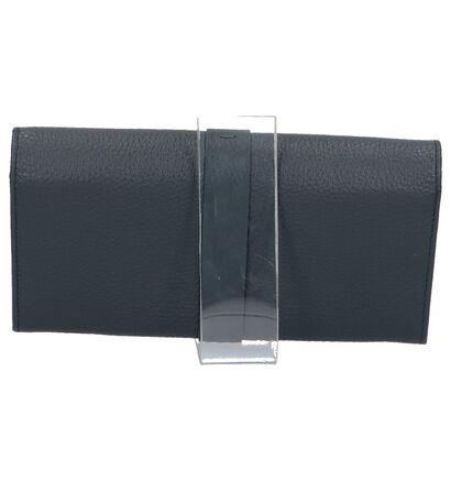 Crinkles Porte-monnaies à rabat  (Noir), Bleu, pdp