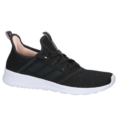 Zwarte Sneakers adidas Cloudfoam Pure in stof (208786)