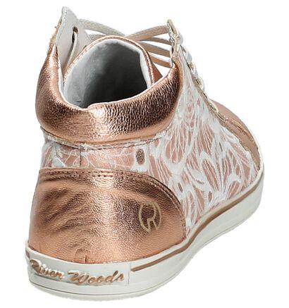 River Woods Sneakers hautes  (Rose), Rose, pdp