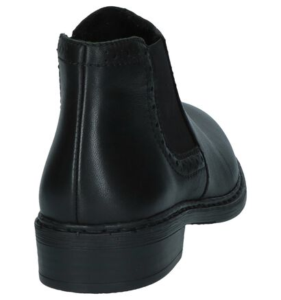 Zwarte Chelsea Boots Rieker, Zwart, pdp