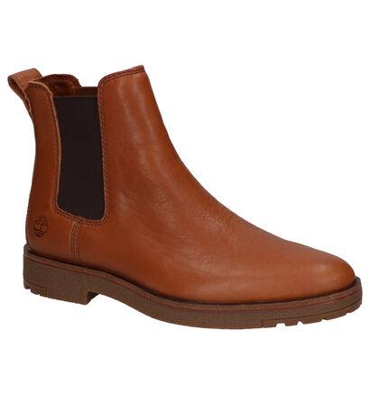 Timberland Folk Gentleman Cognac Boots in leer (255367)