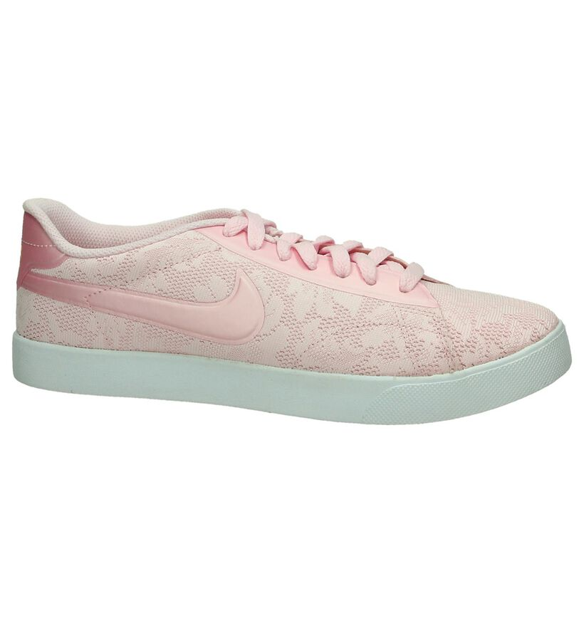 Roze Sneaker Nike Racquette in kunstleer (198255)