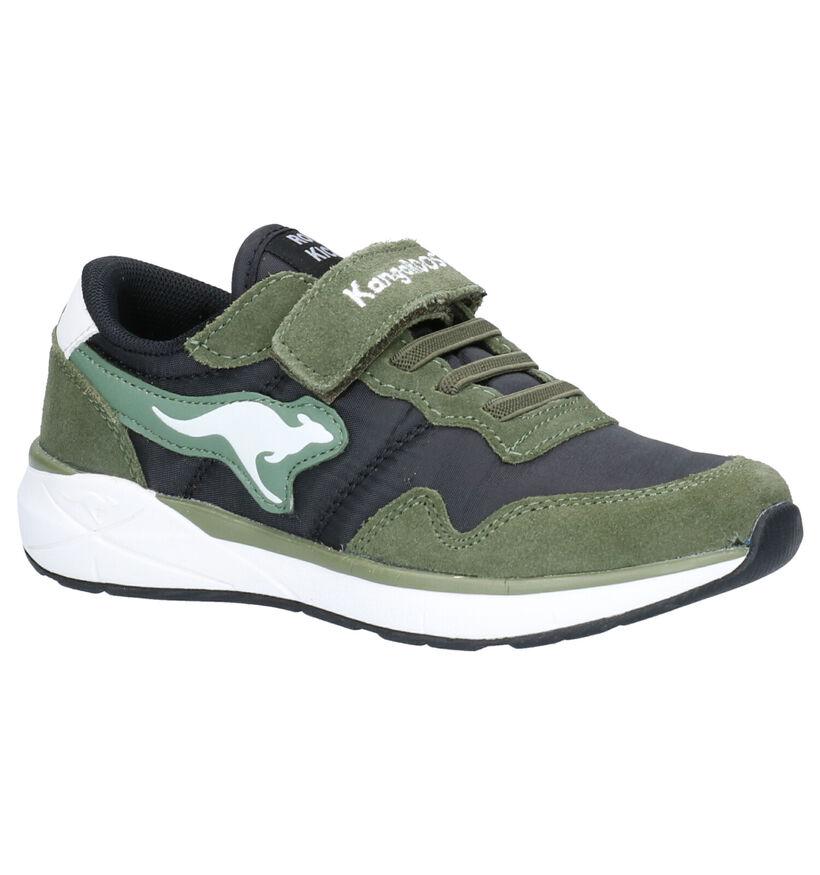 KangaRoos Ivador RK Kaki Sneakers in daim (257728)