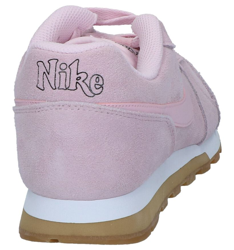 MD Runner Baskets basses en Rose en daim (237841)