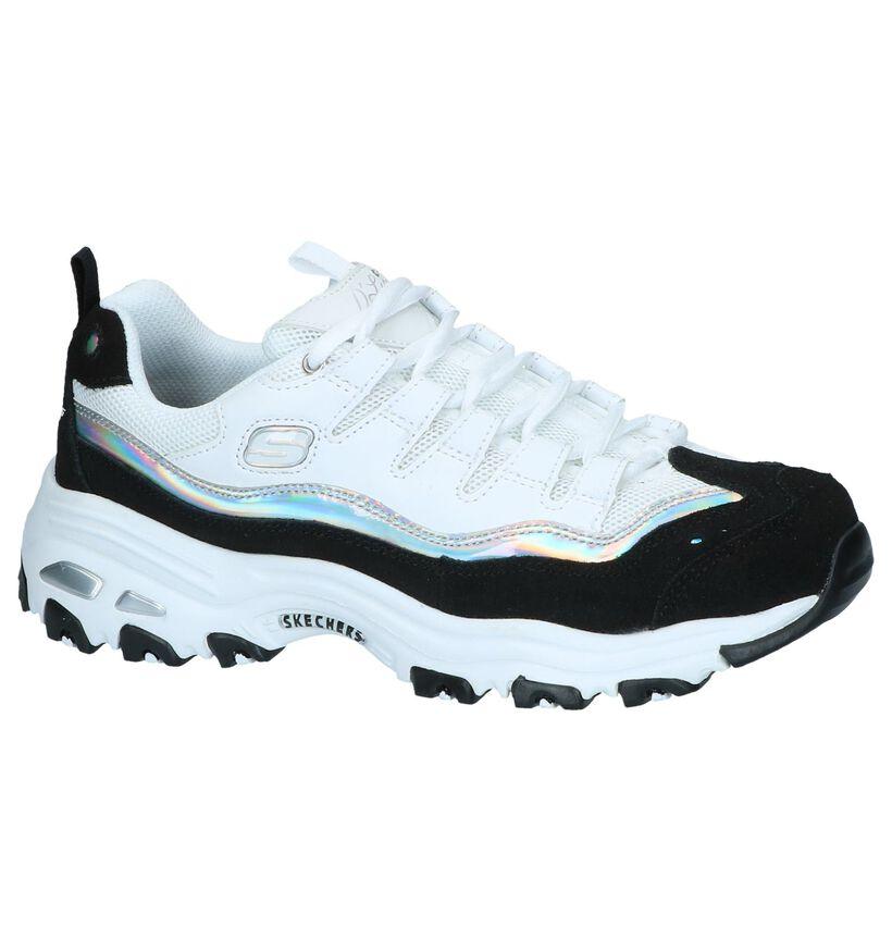 Witte Sneakers Skechers D'Lites Grand View in daim (252026)