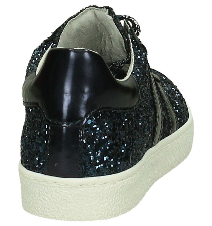 Ghost Rockers Baskets basses en Bleu foncé en simili cuir (200939)