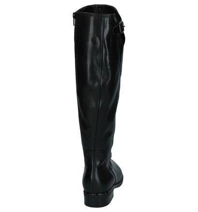 Gabor Comfort Bottes hautes en Noir en cuir (231311)