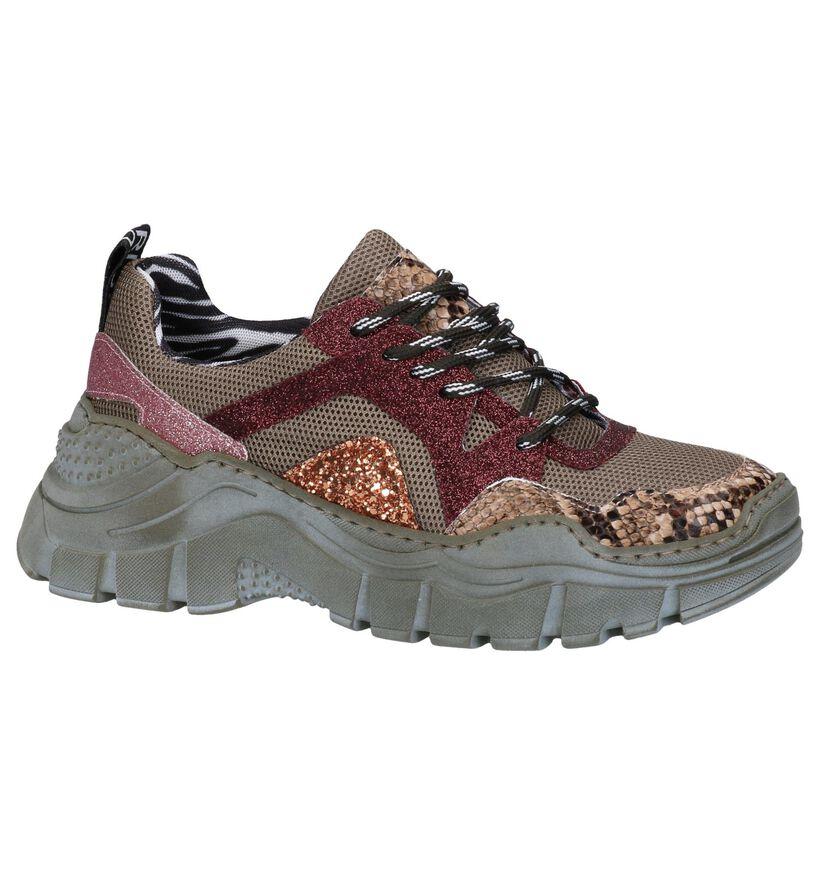 Clue Multicolor Sneakers in leer (262619)