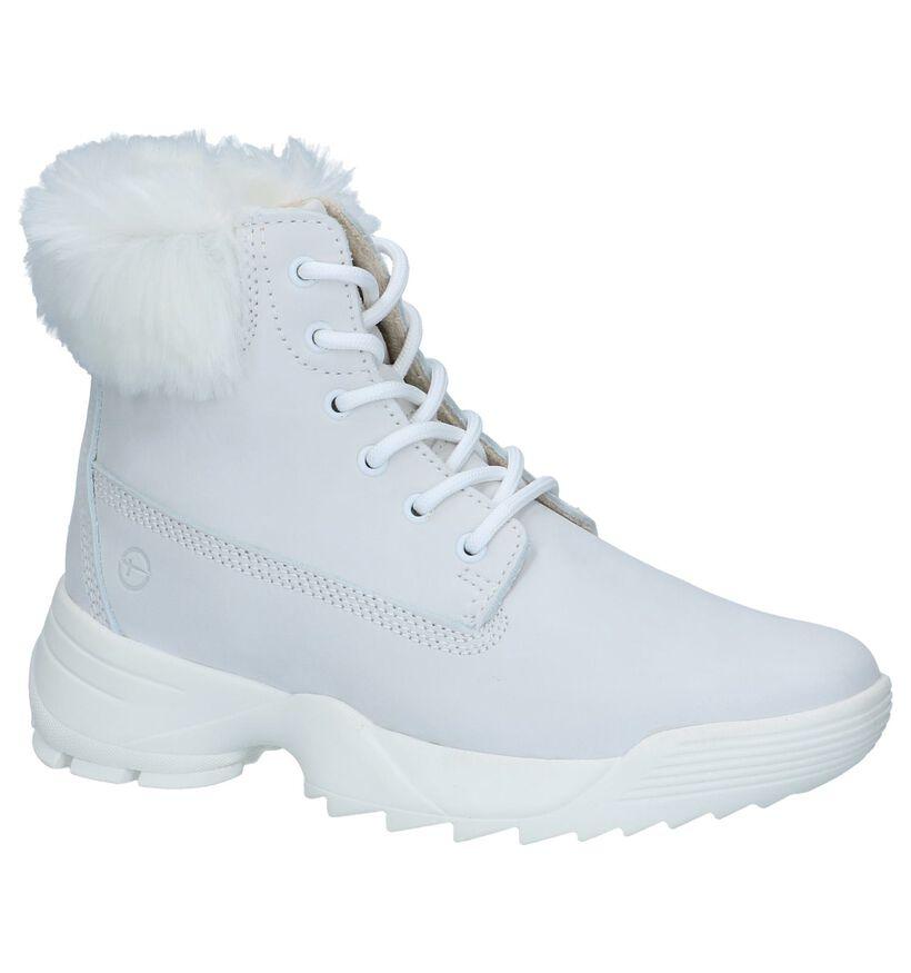 Beige Boots Tamaris in nubuck (239968)