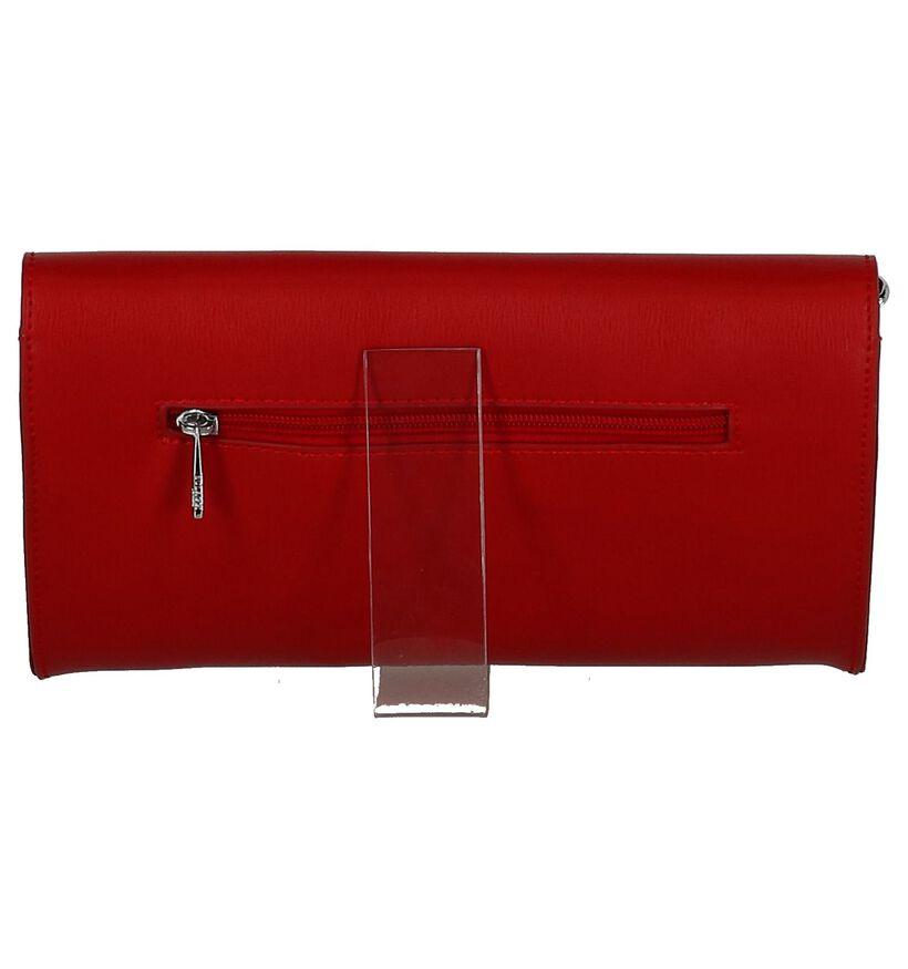 Rode Clutch Bulaggi Liss in kunstleer (249512)