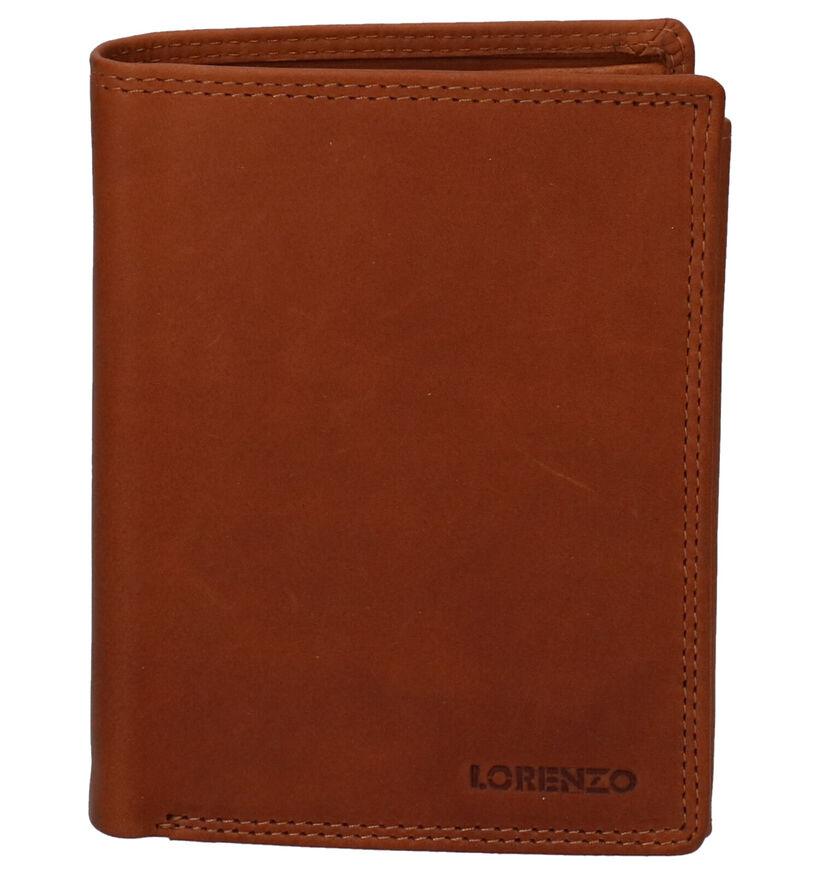 Euro-Leather Portefeuilles en Cognac en cuir (275663)