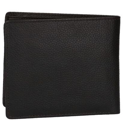 Euro-Leather Portefeuilles en Noir en cuir (262487)