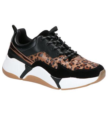 Youh! Chaussures à lacets en Noir en simili cuir (256492)