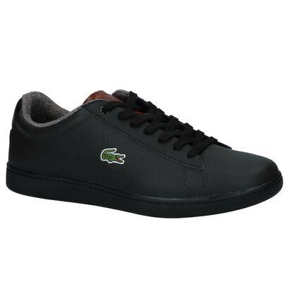 Lacoste Carnaby Evo Chaussures basses en Noir en cuir (222699)
