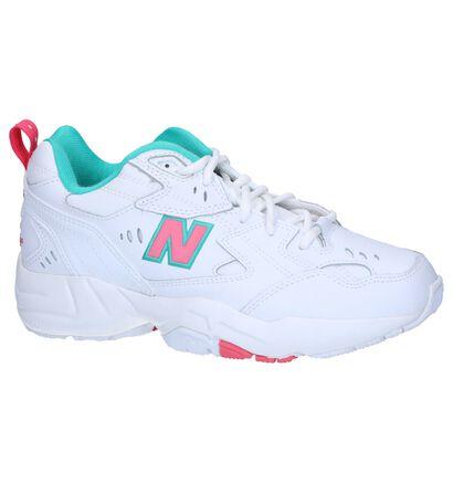 Witte Sneakers New Balance WX608 in kunstleer (263276)