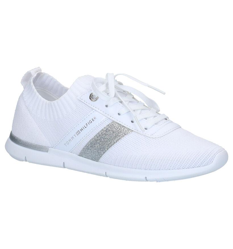 Tommy Hilfiger Baskets basses en Blanc en textile (276244)