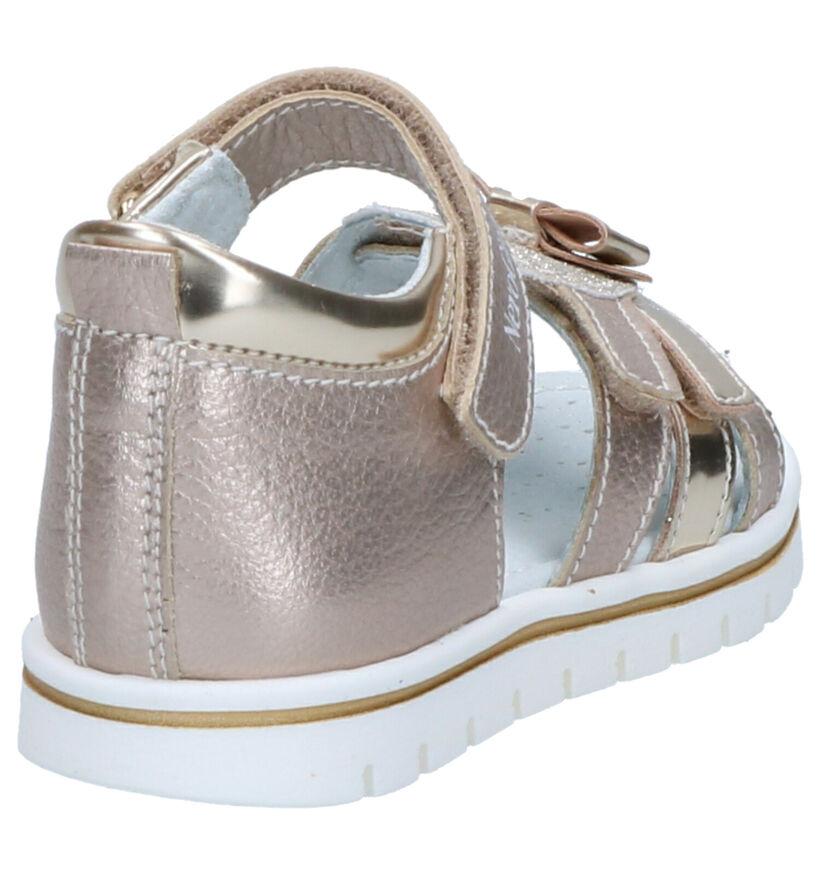NeroGiardini Sandales pour bébé en Or en cuir (272156)