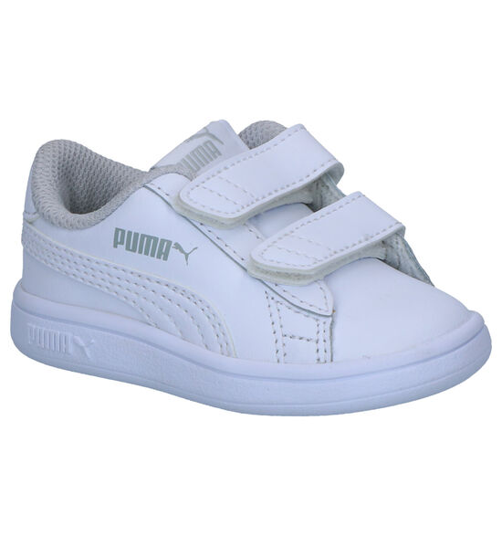 Puma Smash Baskets en Blanc