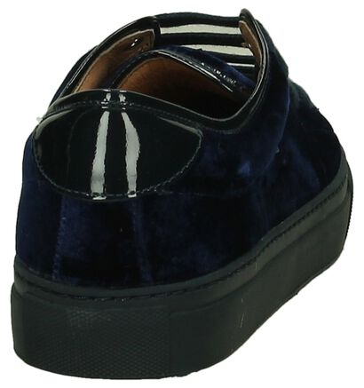 Hampton Bays Blauwe Velours Sneakers in velours (207836)