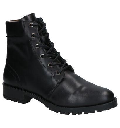 River Woods Simona Cognac Boots in leer (260304)