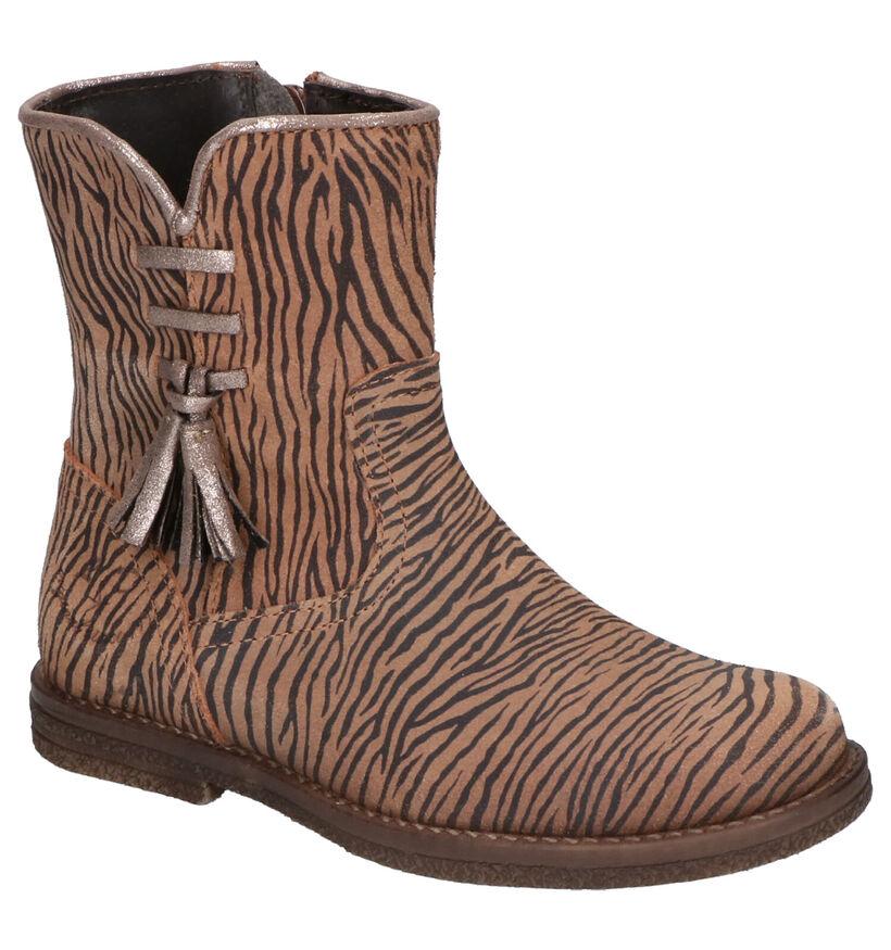 Little David Tinky Bruine Boots in nubuck (261713)