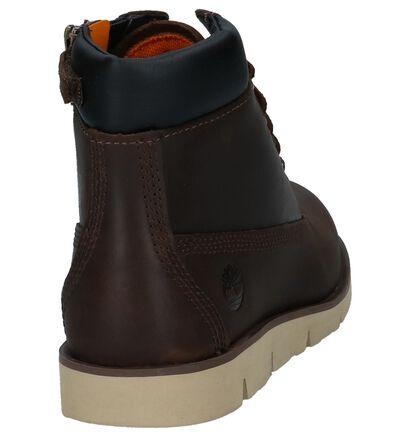 Timberland Radford Donkerbruine Boots Rits/Veter in nubuck (222353)