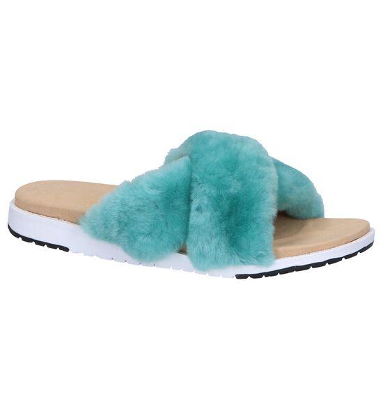 EMU Nu-pieds plates en Turquoise
