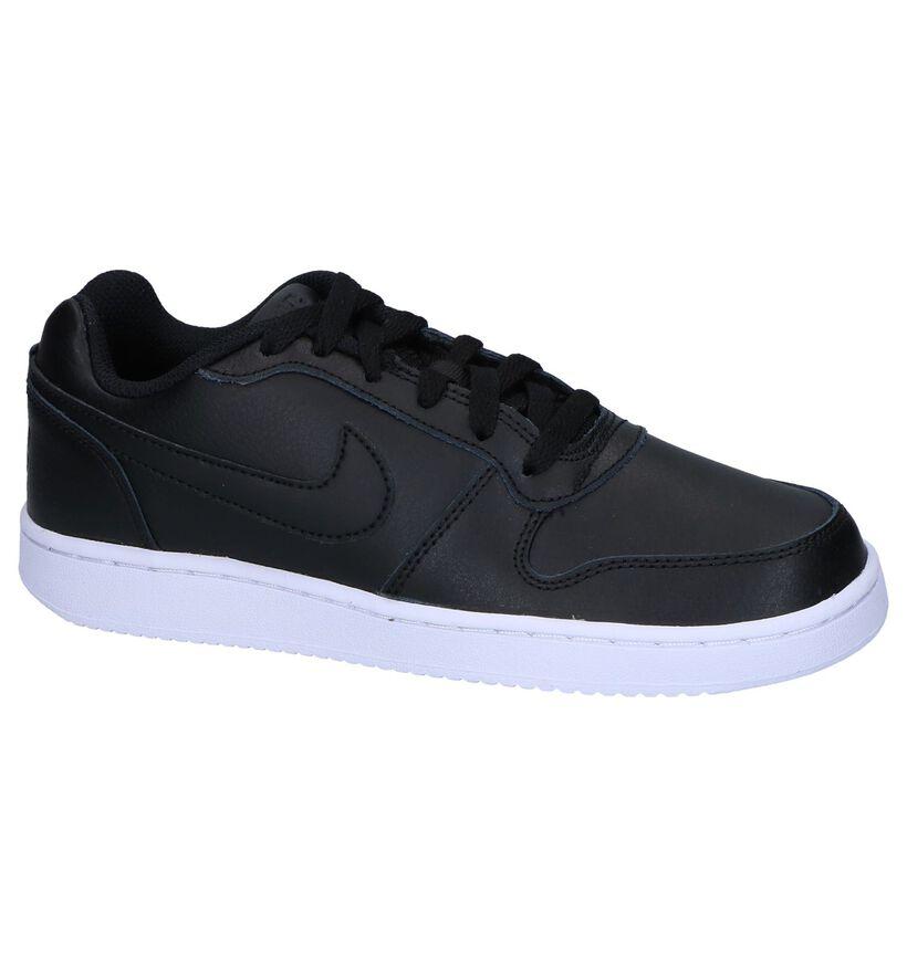 Nike Ebernon Baskets basses en Noir en simili cuir (250264)